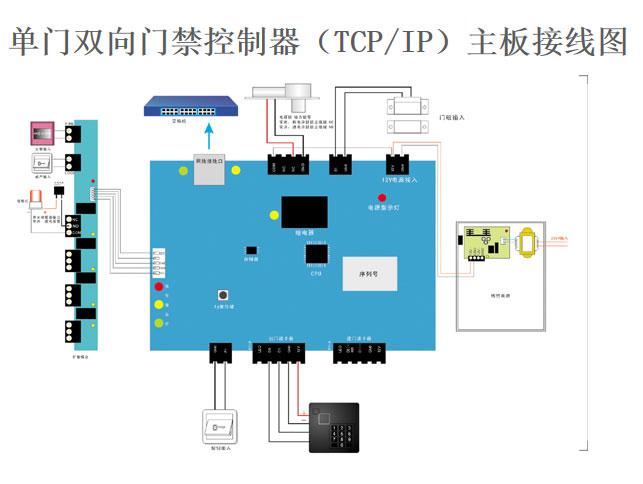 ias-2010t门禁控制器接线图